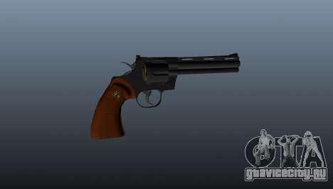 Револьвер Python 357 6in для GTA 4 третий скриншот