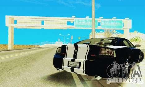 Dodge Charger DUB для GTA San Andreas вид сзади