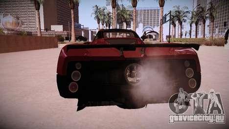 Pagani Zonda для GTA San Andreas вид справа