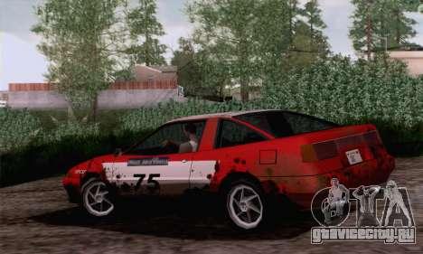 Uranus Rally Edition для GTA San Andreas вид слева