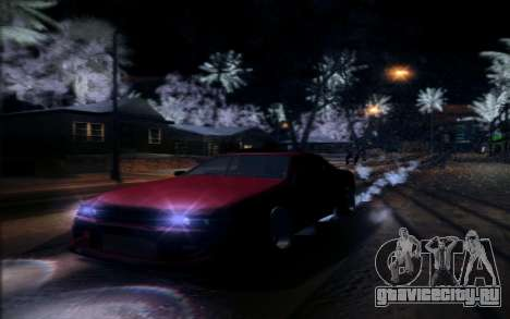 Tuned Elegy для GTA San Andreas вид сзади слева
