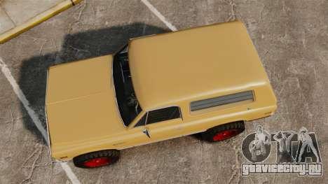 Chevrolet Blazer K5 1972 для GTA 4 вид справа