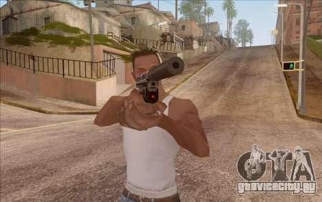 Пистолет с глушителем для GTA San Andreas второй скриншот