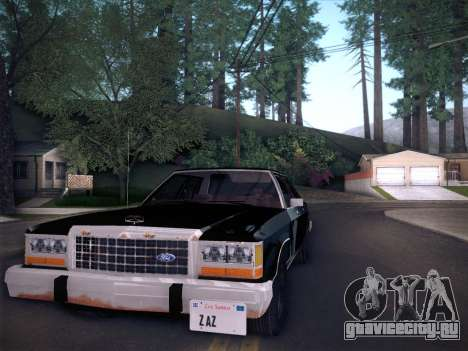 Ford LTD Crown Victoria 1985 для GTA San Andreas вид сзади слева