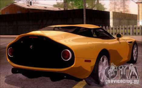 Alfa Romeo TZ3 2011 для GTA San Andreas вид слева