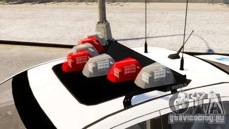 Ford Fusion LCPD 2011 [ELS] для GTA 4 вид справа