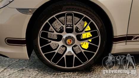 Porsche 911 Turbo 2014 [EPM] TechArt Design для GTA 4 вид изнутри