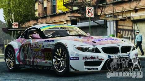 BMW Z4 GT3 2010 для GTA 4 салон