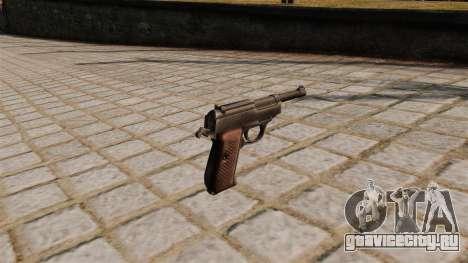 Пистолет Walther P38 для GTA 4 второй скриншот