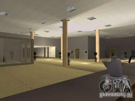 Новые текстуры интерьера Мэрии для GTA San Andreas пятый скриншот
