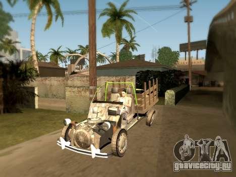 Citroen 2CV (Diana) для GTA San Andreas вид слева