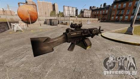 Ручной пулемёт FN Mk 46 для GTA 4