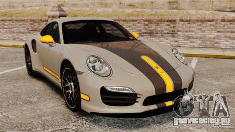 Porsche 911 Turbo 2014 [EPM] TechArt Design для GTA 4