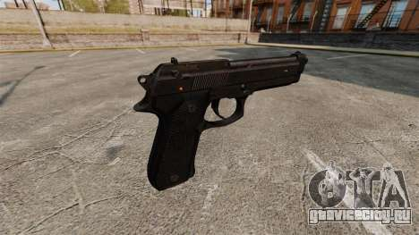 Пистолет Beretta M9 для GTA 4 второй скриншот