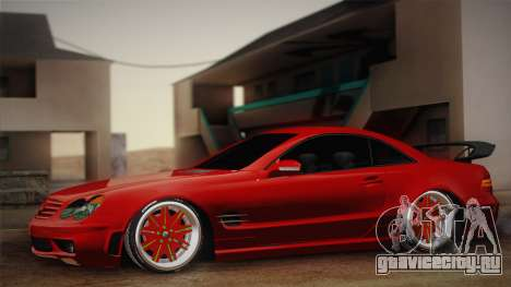 Mercedes-Benz SL65 AMG Racing Edition для GTA San Andreas