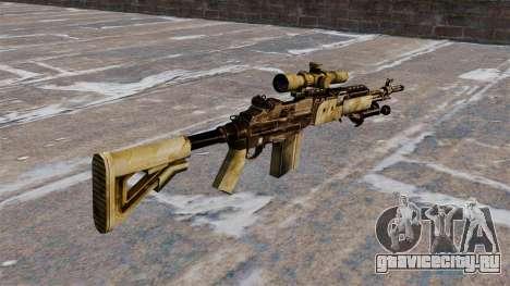 Снайперская винтовка M21 Mk14 для GTA 4 второй скриншот