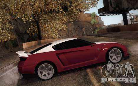 Elegy RH8 from GTA V для GTA San Andreas вид сзади