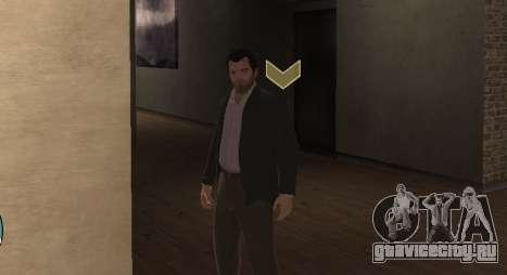 Michael De Santa from GTA V для GTA 4 четвёртый скриншот