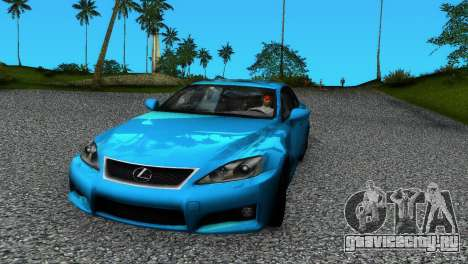 Lexus IS-F для GTA Vice City
