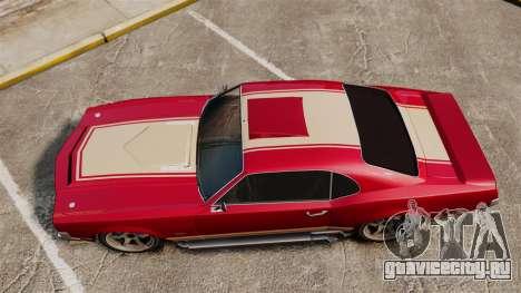 Sabre RS для GTA 4 вид справа