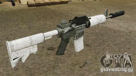Автоматический карабин M4 обновлённый для GTA 4 второй скриншот