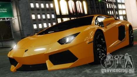 Lamborghini Aventador LP700-4 [EPM] 2012 для GTA 4 двигатель