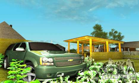 Chevrolet Suburban 2008 для GTA San Andreas вид снизу