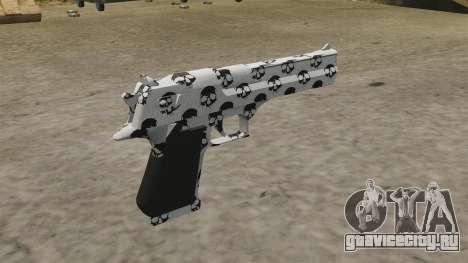 Пистолет Desert Eagle Skull для GTA 4 второй скриншот