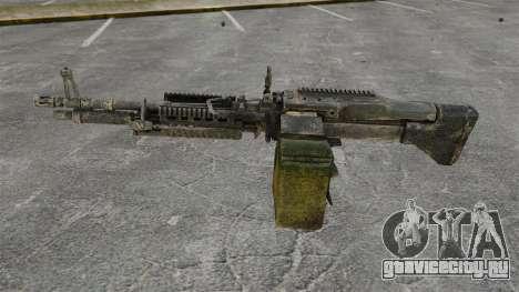 Единый пулемёт M60E4 для GTA 4 третий скриншот