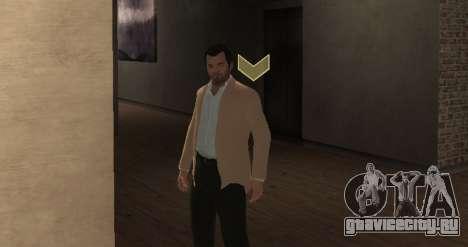 Michael De Santa from GTA V для GTA 4 третий скриншот