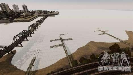 Замёрзшая вода для GTA 4 шестой скриншот