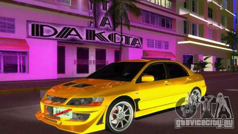 Mitsubishi Lancer Evolution VIII Type 8 для GTA Vice City