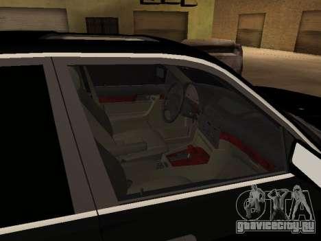 BMW 520i e34 для GTA San Andreas вид сзади