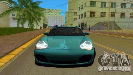 Porsche 911 Turbo для GTA Vice City вид слева