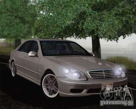 Mercedes-Benz AMG S65 2004 для GTA San Andreas