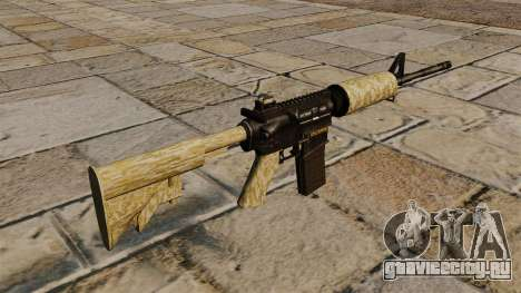 Автоматический карабин M4A1 Desert для GTA 4 второй скриншот
