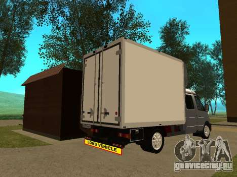 ГАЗель 33023 Бизнеc для GTA San Andreas вид справа