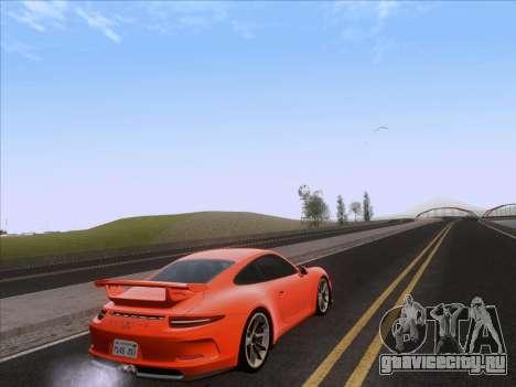 Porsche 911 GT3 2014 для GTA San Andreas вид сзади слева