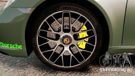 Porsche 911 Turbo 2014 [EPM] Ghosts для GTA 4 вид сзади
