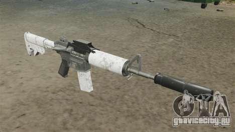 Автоматический карабин M4 обновлённый для GTA 4