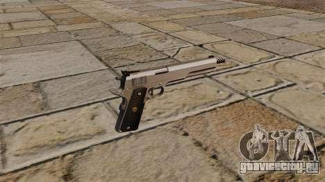 Пистолет AMT Hardballer Longslide для GTA 4 второй скриншот
