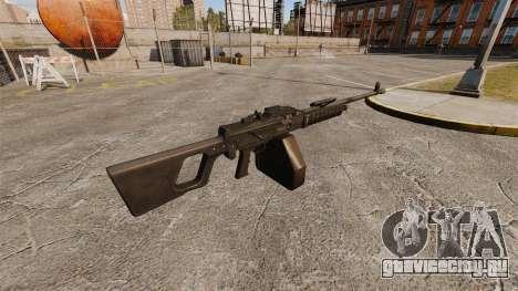 Единый пулемёт QJY-88 для GTA 4 второй скриншот