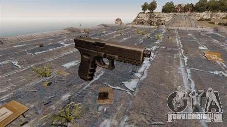 Самозарядный пистолет Glock 17 для GTA 4