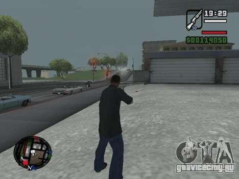 Новые Худ и иконки на карте для GTA San Andreas шестой скриншот