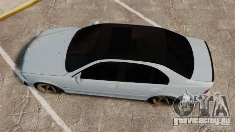 BMW M5 E39 2003 для GTA 4 вид справа