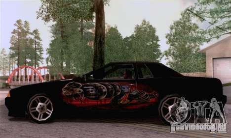 Покрасочная работа для Elegy для GTA San Andreas вид сзади слева