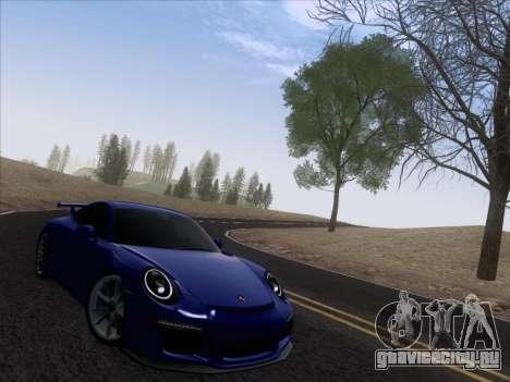 Porsche 911 GT3 2014 для GTA San Andreas вид справа