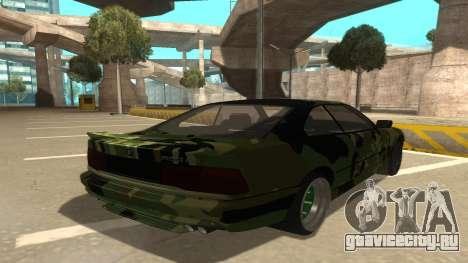 BMW 850CSi 1996 Military Version для GTA San Andreas вид справа