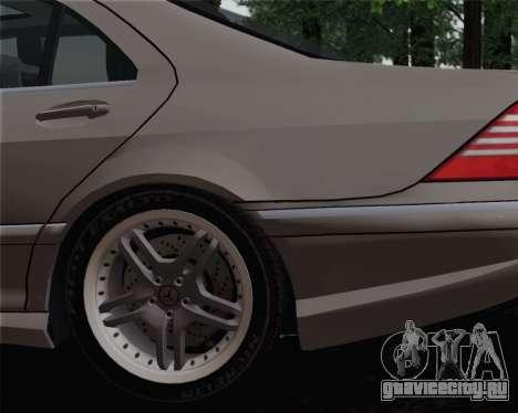 Mercedes-Benz AMG S65 2004 для GTA San Andreas вид сзади слева