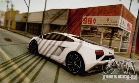 Lamborghini Gallardo LP560-4 2013 для GTA San Andreas вид слева
